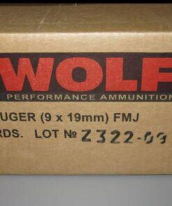 Wolf 9mm ammo